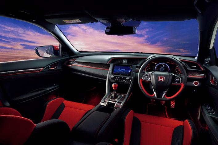 ホンダ 新型シビックタイプR 純正アクセサリー装着車