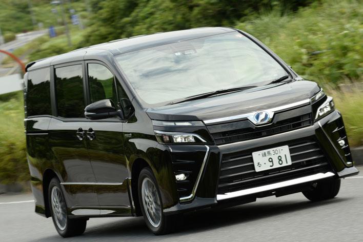トヨタ新型ヴォクシー ハイブリッド 実燃費レポート(2017年7月マイナーチェンジモデル)