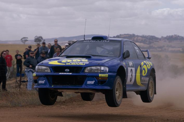 SUBARU IMPREZA 555 WRC98