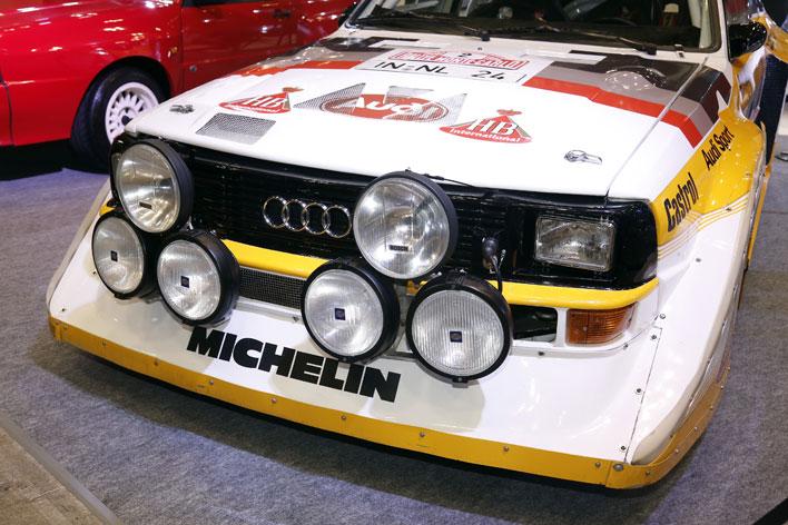 アウディ スポーツクワトロ S1(WRC参戦・1985年モデル)<アウディブース/オートモビルカウンシル 2017>