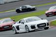 アウディ R8/TT RS試乗レポート|サーキットでアウディスポーツの本質を体感!