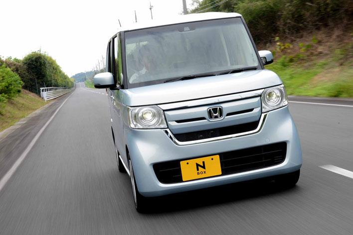 ホンダ 新型N-BOX G・EX[FF/ボディカラー:モーニングミストブルー・メタリック] 試乗レポート/渡辺陽一郎