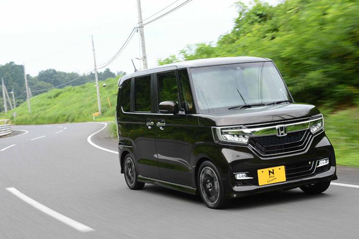 ホンダ 新型N-BOX Custom G・EXターボ[FF/ボディカラー:プレミアムグラマラスブロンズ・パール] 試乗レポート/渡辺陽一郎