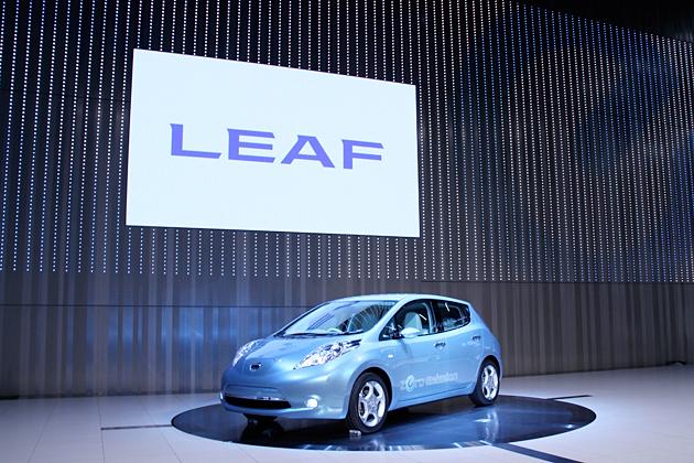 日産 リーフ 初公開 新型EV(電気自動車)