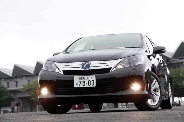 レクサス HS250h 試乗レポート/岡本幸一郎