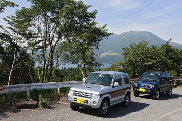 軽自動車SUV比較:ジムニー×パジェロミニ 【ルックス&スペック編】