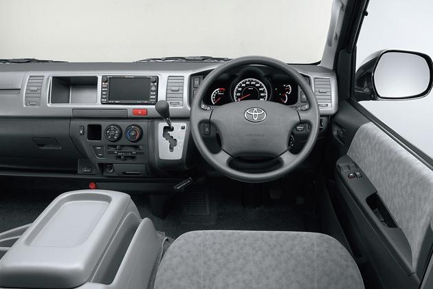 トヨタ ハイエース ワゴン GL インパネ