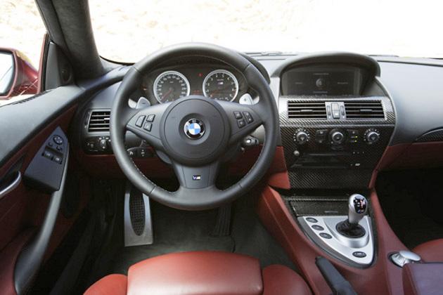 BMW M6 左ハンドル インパネ
