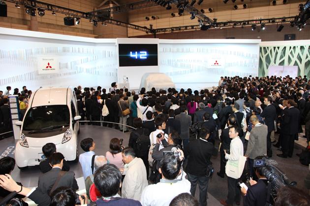 2009東京モーターショー:三菱ブース