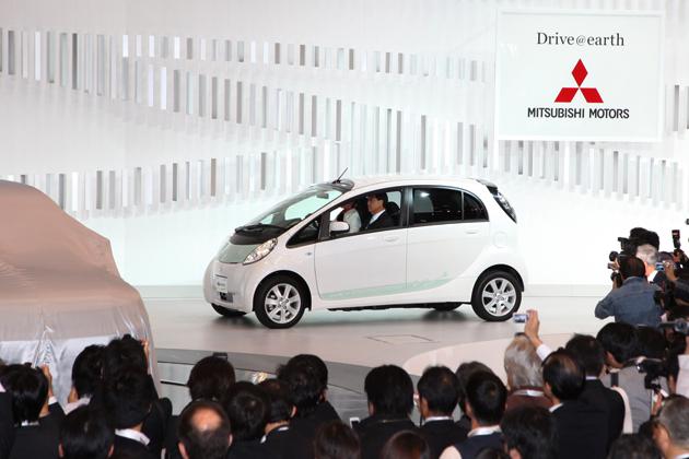 2009東京モーターショー:三菱 i-MiEV