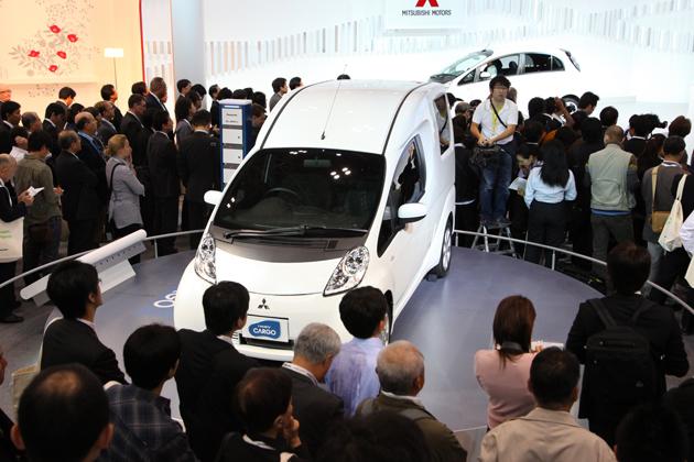 2009東京モーターショー:三菱 i-MiEV-CARGO