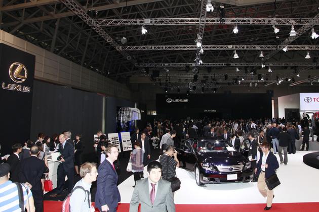 東京モーターショー2009 レクサスブース