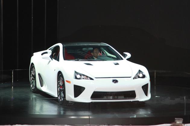 2009東京モーターショー/レクサス LFA