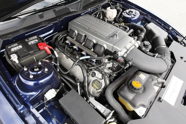マスタング:エンジン