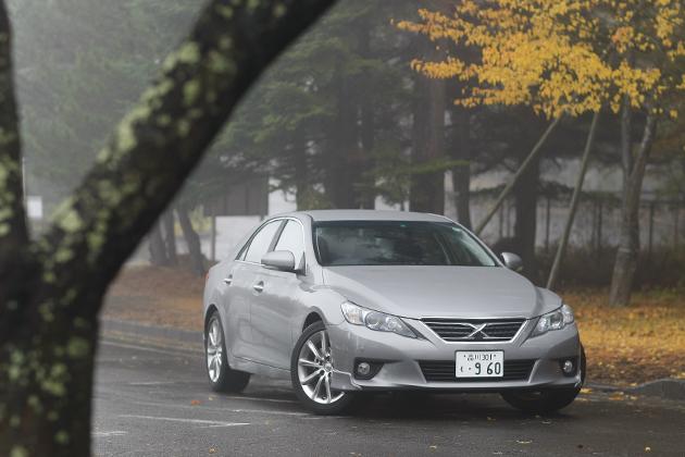 トヨタ マークX 試乗レポート/岡本幸一郎