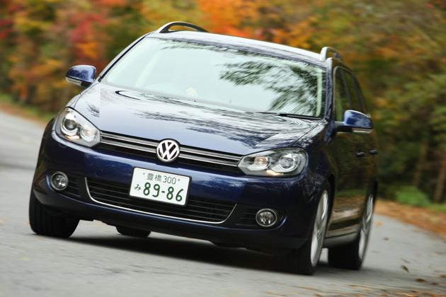 VW 新型ゴルフ ヴァリアント 試乗レポート/松下宏
