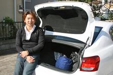 片岡龍也選手と愛車のレクサス GS430