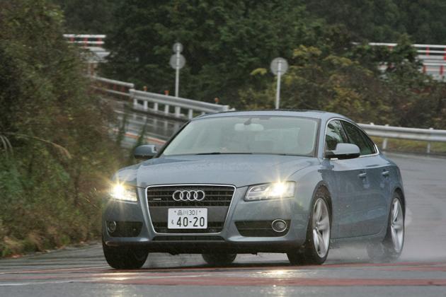 アウディ A5スポーツバック 試乗レポート/松田秀士