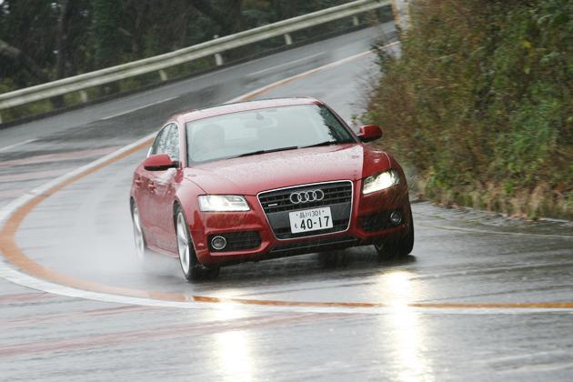 アウディ A5スポーツバック 試乗レポート/岡本幸一郎
