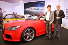 アウディ 新型TT RSクーペ 新車発表会速報