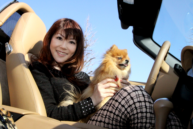 RICAさんと愛犬のリーズちゃん