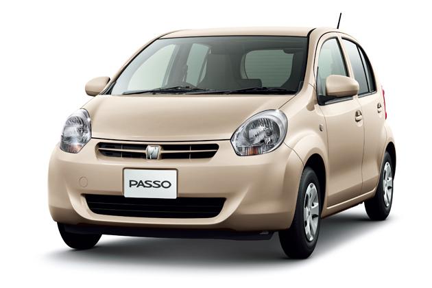 トヨタ パッソ グレード比較