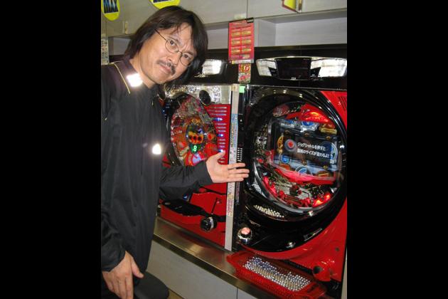 フェラーリのパチンコ台と清水草一氏