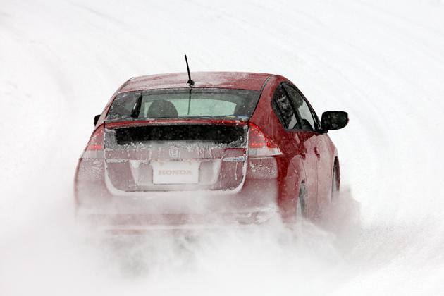ホンダ インサイト 雪上試乗レポート
