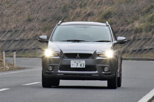 三菱 RVR 試乗レポート/岡本幸一郎