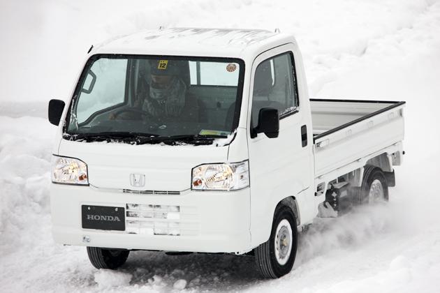 ホンダ アクティトラック 雪上試乗レポート