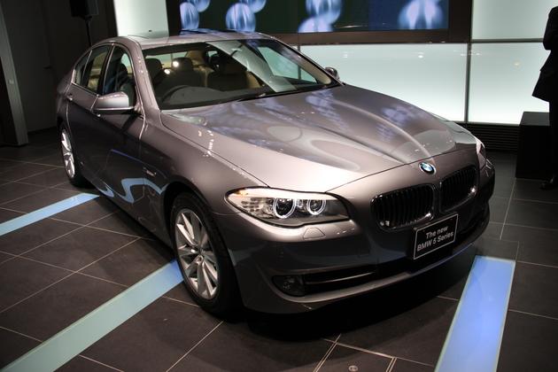 BMW 新型5シリーズセダン 新車発表会速報