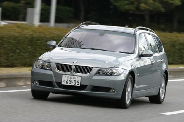 BMW 3シリーズツーリング 試乗レポート   BMW 3シリーズツーリング 試乗レポート 【オ