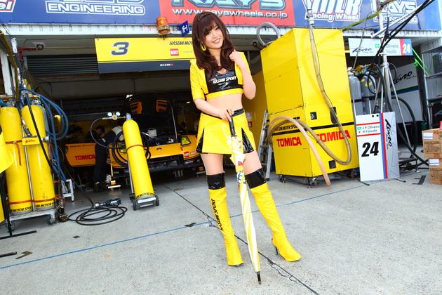 高橋としみ:Hasemi Sport Lady(HASEMI MOTOR SPORT)