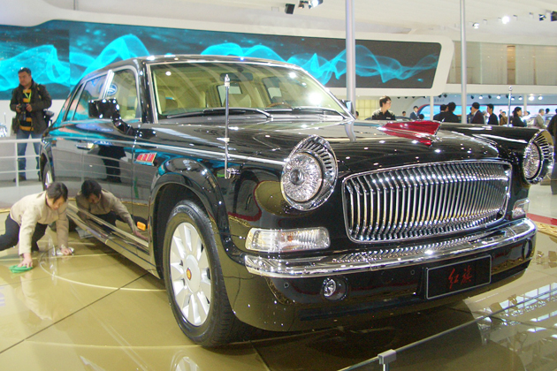 中国一汽の最上級車「紅旗」