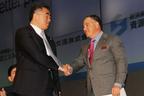 (左)ベタープレイス・ジャパン 藤井社長/(右)ベタープレイス イダンオファー会長