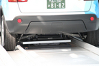 EVタクシー 充電池交換の様子-2