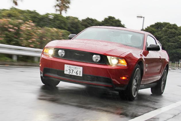 フォード マスタング V8 GTパフォーマンスパッケージ 試乗レポート
