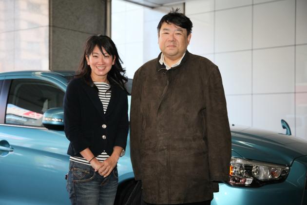 (左)藤島知子/(右)オートックワン読者の斉藤さん