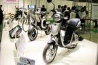 ヤマハやホンダが出展した電動バイク等