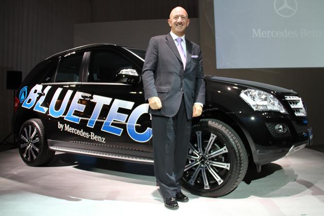 メルセデス・ベンツ ML350 BlueTEC 4MATIC 発表会速報