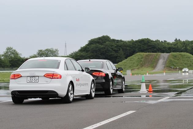 アウディ ドライビングエクスペリエンス 体験レポート