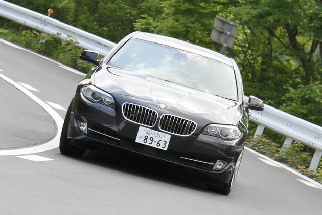 BMW 528i 試乗レポート/岡本幸一郎