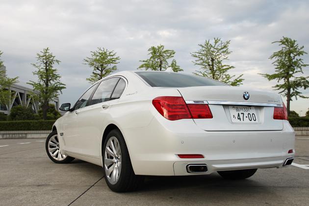 BMW アクティブハイブリッド7 試乗レポート