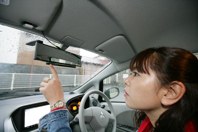 ミラー型GPS&レーダー探知機