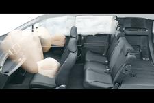 運転席用&助手席用SRSエアバッグシステム/前席用i-サイドエアバッグシステム+サイドカーテンエアバッグシステム