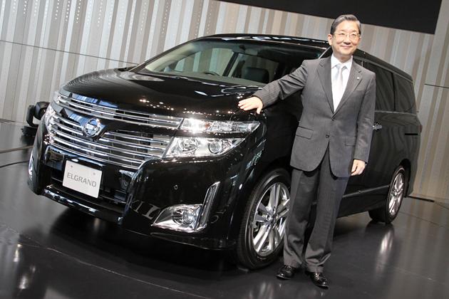 日産 エルグランド 新車発表会速報