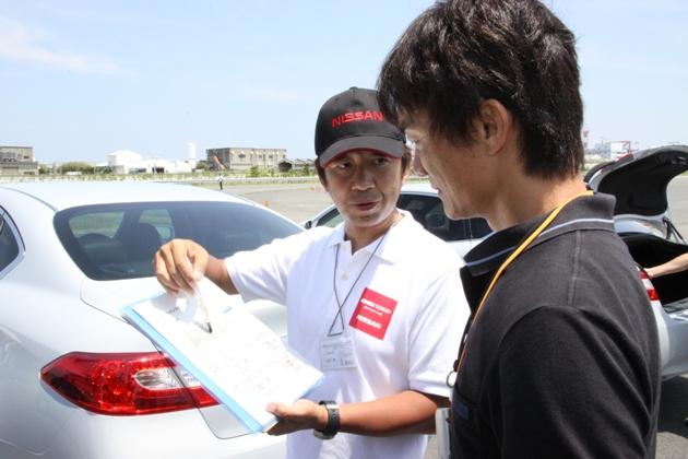 日産先進技術試乗会2010