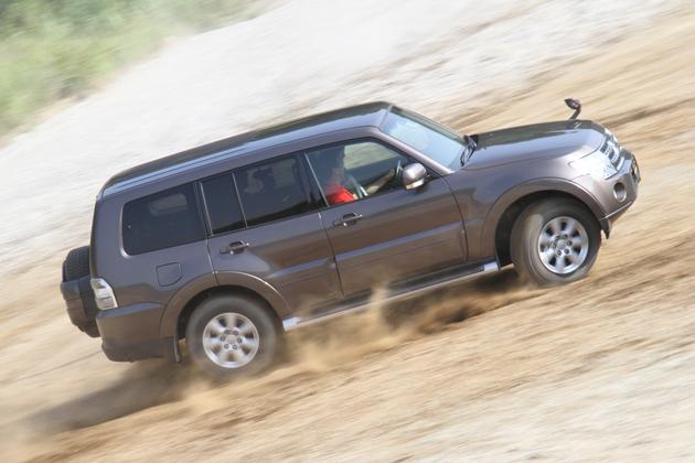 三菱パジェロディーゼル 2011年モデル 試乗レポート
