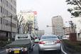 一般道での渋滞の様子