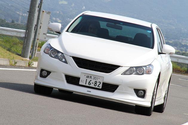 トヨタ マークX +Mスーパーチャージャー 試乗レポート